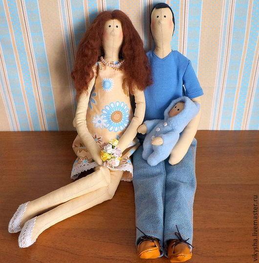Куклы Тильды ручной работы. Ярмарка Мастеров - ручная работа. Купить Семья в тильдо стиле. Handmade. Тильда, кукла в подарок