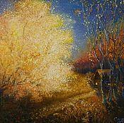 Картины и панно ручной работы. Ярмарка Мастеров - ручная работа Просто осень золотится.... Handmade.