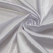 Ткани ручной работы. Ярмарка Мастеров - ручная работа Ткань креп-сатин БЕЛЫЙ. Handmade.