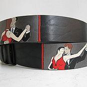 Аксессуары handmade. Livemaster - original item TANGO leather strap. Handmade.