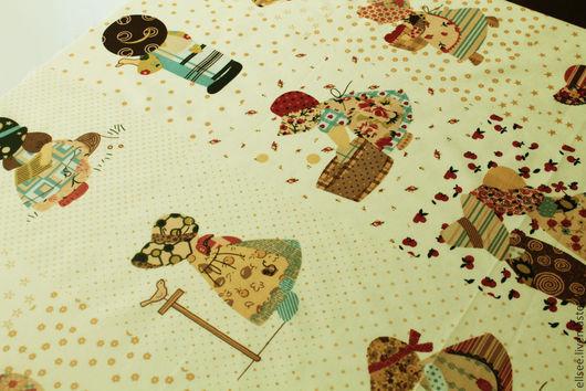 """Шитье ручной работы. Ярмарка Мастеров - ручная работа. Купить Панель """"6 картинок"""". Handmade. Ткани, ткань для творчества, купон"""