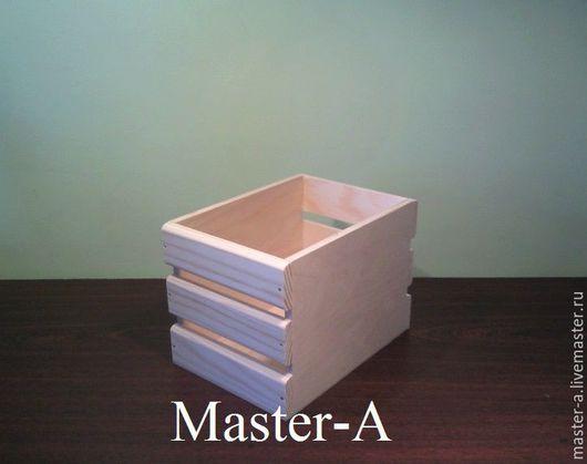 Ящик реечный №20 - заготовка для декупажа