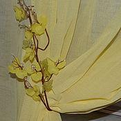 Для дома и интерьера handmade. Livemaster - original item Tiebacks Apple blossom, lemon. Handmade.