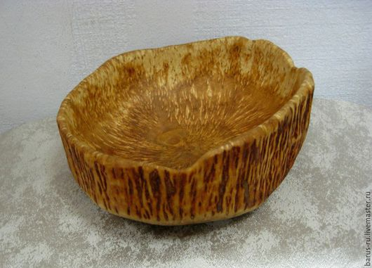 Тарелки ручной работы. Ярмарка Мастеров - ручная работа. Купить Чаша (миска) из карельской березы. Handmade. Чаша, Деревянная посуда
