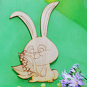 Материалы для творчества handmade. Livemaster - original item Bunny with lilies of the valley, a preparation for creativity. Handmade.