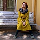 """Платья ручной работы. Ярмарка Мастеров - ручная работа. Купить Платье длинное """"Солнечное"""".. Handmade. Желтый, льняное платье, отдых"""