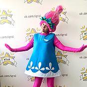 Одежда handmade. Livemaster - original item Trolls Poppy costume. Handmade.
