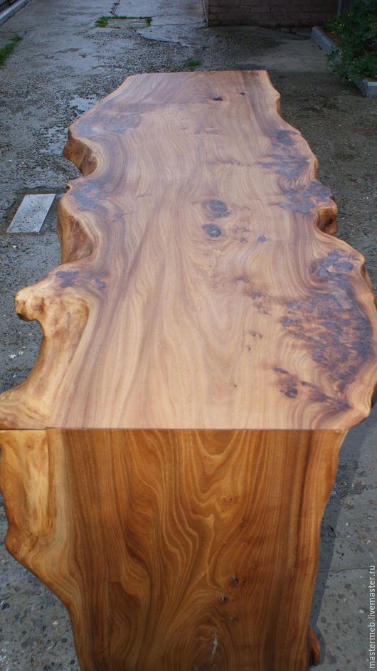 Мебель ручной работы. Ярмарка Мастеров - ручная работа. Купить Стол из слэба. Handmade. Коричневый, слэб дерева, масло