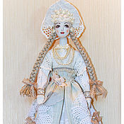 Куклы и игрушки ручной работы. Ярмарка Мастеров - ручная работа кукла тильда БЕЛАВА .Русский лён. Handmade.