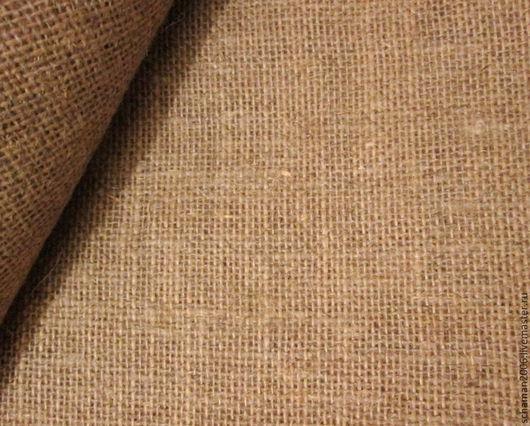 Другие виды рукоделия ручной работы. Ярмарка Мастеров - ручная работа. Купить Холст мешковина крупнозернистая. Handmade. Бежевый, холст