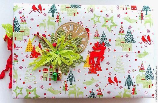 Альбом новогодний ручной работы `12 Days of Christmas`