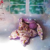 """Куклы и игрушки ручной работы. Ярмарка Мастеров - ручная работа Игрушка  сплюшка для сна """"Бабочки """"( зайка, игрушка, сон). Handmade."""