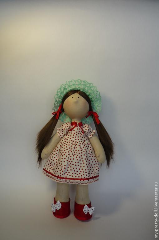 Коллекционные куклы ручной работы. Ярмарка Мастеров - ручная работа. Купить Кукла Снежка девочка Лето. Handmade. Кукла интерьерная