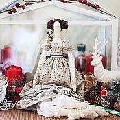Куклы и игрушки ручной работы. Ярмарка Мастеров - ручная работа Тильда Эмма. Handmade.