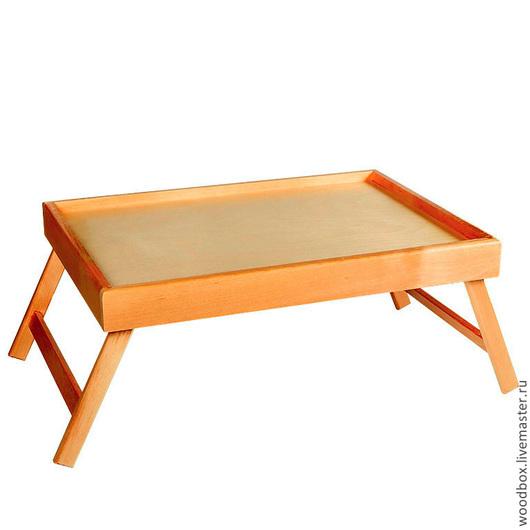 Мебель ручной работы. Ярмарка Мастеров - ручная работа. Купить Столик для завтрака трапезы трансформер под лаком. Handmade.