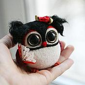 Куклы и игрушки ручной работы. Ярмарка Мастеров - ручная работа Сова Кармен. Handmade.