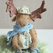 Куклы и игрушки ручной работы. Ярмарка Мастеров - ручная работа Лосик. Тедди. Handmade.