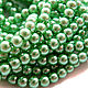 Для украшений ручной работы. Ярмарка Мастеров - ручная работа. Купить Жемчуг стеклянный 4 мм  зеленый (19553). Handmade.