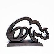 Для дома и интерьера handmade. Livemaster - original item Sculpture Cat-hieroglyph-3. Handmade.