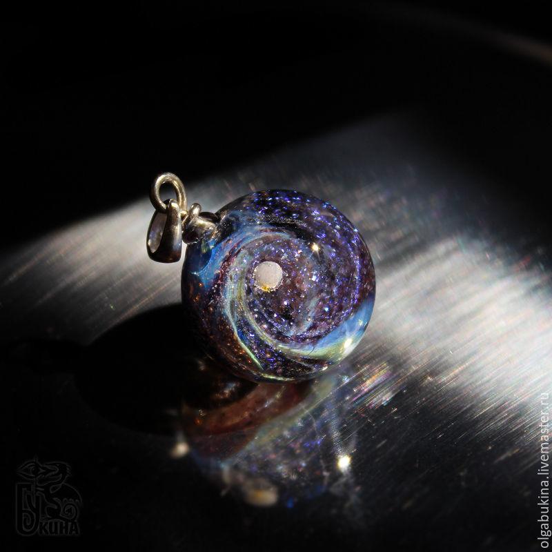 Pendant ball galaxy purple space silver glass universe necklace pendant ball galaxy purple space silver glass universe necklace mozeypictures Images
