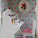 Кукольный дом ручной работы. Ярмарка Мастеров - ручная работа. Купить Нежное утро. Handmade. Белый, шебби стиль