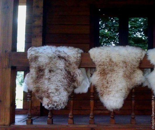 Текстиль, ковры ручной работы. Ярмарка Мастеров - ручная работа. Купить Ковер овечья шкура коричневая. Handmade. Коричневый