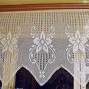 "Curtains1 handmade. Livemaster - original item Curtain ""Spring"". Handmade."