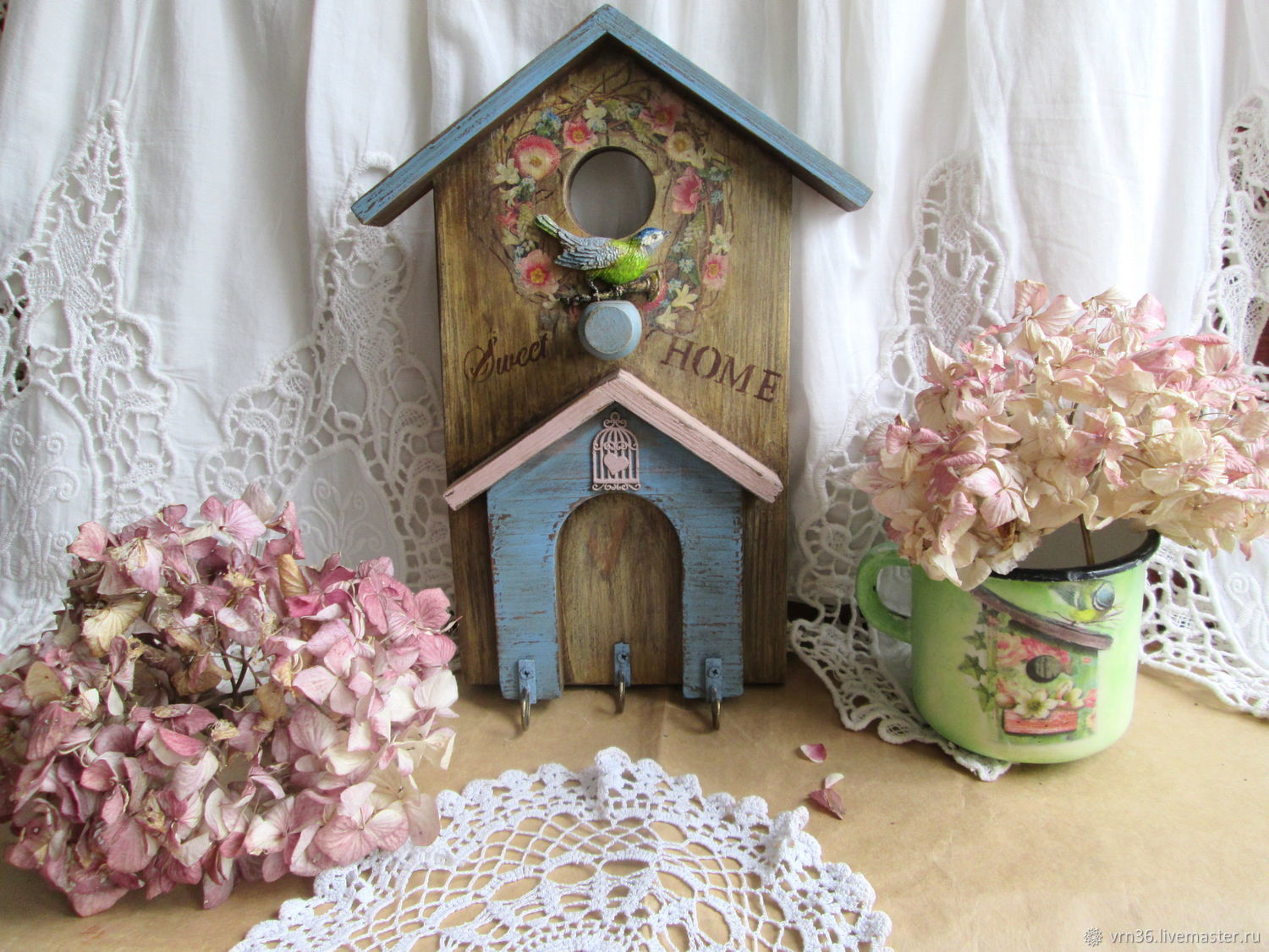 Entrance Hall handmade. Livemaster - handmade. Buy Housekeeper-hanger Sweet Home.Handmade gifts, the housekeeper wooden