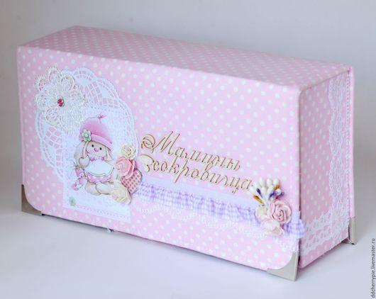 Подарки для новорожденных, ручной работы. Ярмарка Мастеров - ручная работа. Купить Мамины сокровища. Handmade. Розовый, молодой маме, кружево