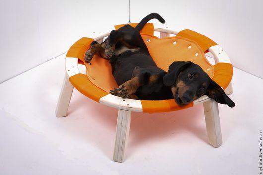 Аксессуары для собак, ручной работы. Ярмарка Мастеров - ручная работа. Купить Гамак напольный большой. Handmade. Рыжий, для кота, игрушка для собак