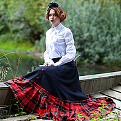 Одежда handmade. Livemaster - original item Historical reconstruction of the skirt. Handmade.