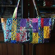 Сумки и аксессуары handmade. Livemaster - original item Patchwork bag