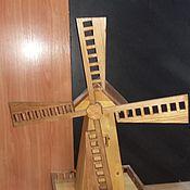 Дизайн и реклама ручной работы. Ярмарка Мастеров - ручная работа Мельница из дерева. Handmade.