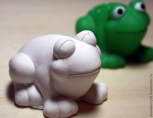 Развивающие игрушки ручной работы. Ярмарка Мастеров - ручная работа. Купить Гипсовые раскраски по 30р. Handmade. Зеленый, лягушки