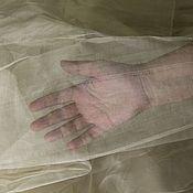 Материалы для творчества ручной работы. Ярмарка Мастеров - ручная работа Шелк маргиланский Органза, Газ суровый, ширина 63-68 см. Handmade.