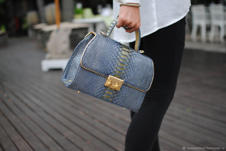 Сумка из кожи питона Silver Star, Женские сумки, Москва, Фото №1