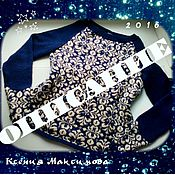 Материалы для творчества ручной работы. Ярмарка Мастеров - ручная работа подробное описание пуловера с жаккардом спицами. Handmade.