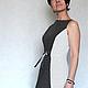 Платья ручной работы. Ярмарка Мастеров - ручная работа. Купить Платье в горошек САБРИНА. Handmade. Чёрно-белый, приталенное платье