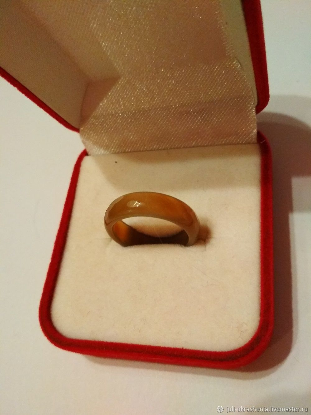 Винтаж: Винтажное кольцо из граненного агата, Винтажные кольца, Краснодар,  Фото №1