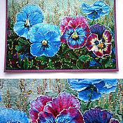 Сумки и аксессуары handmade. Livemaster - original item Passport cover Violet. Handmade.