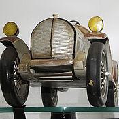 Винтаж ручной работы. Ярмарка Мастеров - ручная работа Авто «Ретро Спорт» модель старой спортивной автомашины раритет. Handmade.