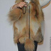 Одежда handmade. Livemaster - original item Fur vest Fox kids. Handmade.