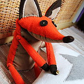 Куклы и игрушки ручной работы. Ярмарка Мастеров - ручная работа Лисёнок из мультфильма Маленький принц. Handmade.