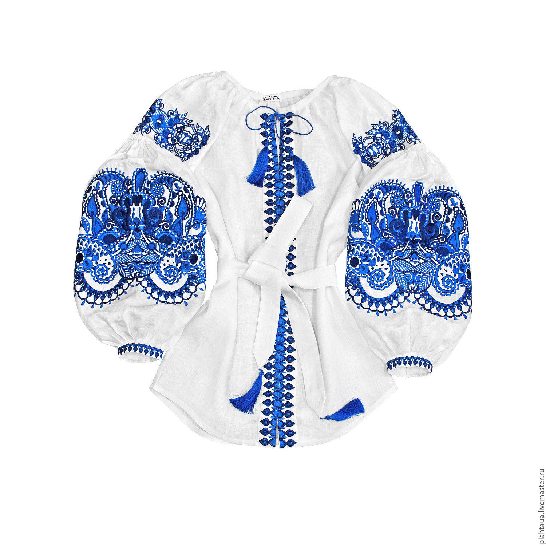 """Блузки ручной работы. Ярмарка Мастеров - ручная работа. Купить Блуза с вышивкой """"Восточная Сказка"""" на кнопках. Handmade. Машинная вышивка"""
