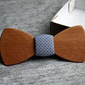Аксессуары ручной работы. Ярмарка Мастеров - ручная работа Деревянная галстук-бабочка Classic из дерева Бук. Handmade.