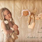 """Куклы и игрушки ручной работы. Ярмарка Мастеров - ручная работа """"Ангел детской мечты"""" - авторская кофейная куколка. Handmade."""