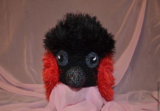 Карнавальные костюмы ручной работы. Ярмарка Мастеров - ручная работа. Купить Снегирь. Комплект шапка + грудка. Handmade.