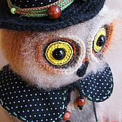 """Куклы и игрушки ручной работы. Ярмарка Мастеров - ручная работа Игрушка """"Сова Плутовка"""". Handmade."""