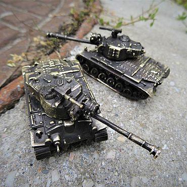 Сувениры и подарки ручной работы. Ярмарка Мастеров - ручная работа Танк Patton M46. Handmade.