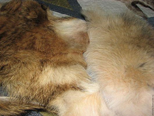 Шитье ручной работы. Ярмарка Мастеров - ручная работа. Купить Мех койота.. Handmade. Комбинированный, мех для миниатюры, натуральный мех
